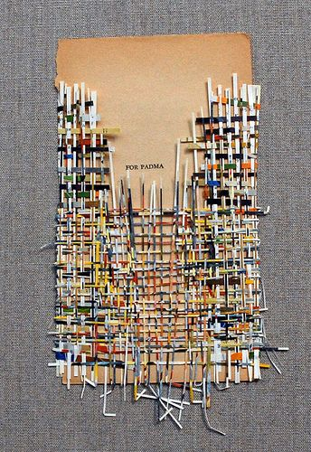 Larissa Nowicki, 'Dedication weaving - for Padma', 2013