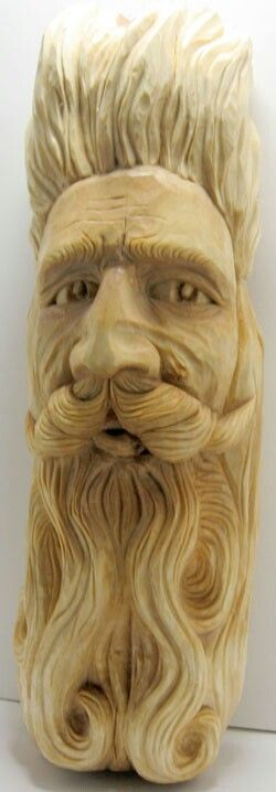 Birch - NOTE detail of mustache and nose - mouth