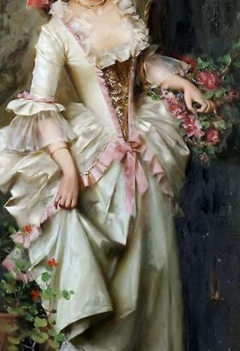 34+ Super ideas for painting woman dress 18th century #dress #painting