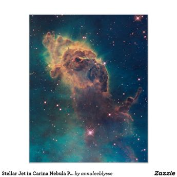 Stellar Jet in Carina Nebula Print | Zazzle.com