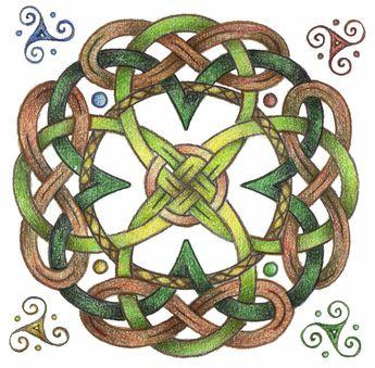 Celtic Design Coloring Book Dover Books