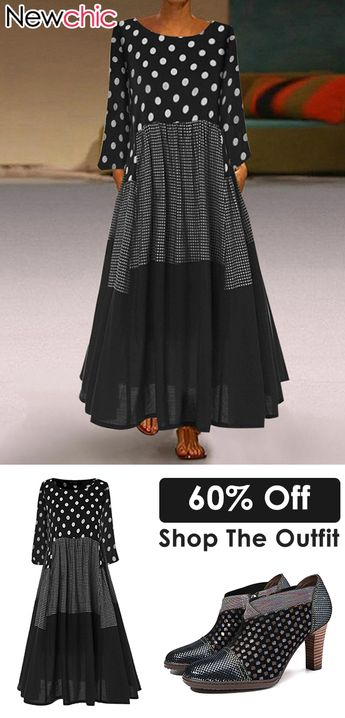 #New Arrival# Dress & Sandals Up To 50% Off #Back To School# Style