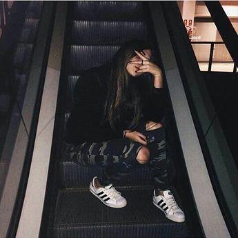 Inspirações para fotos em escadas 🌚