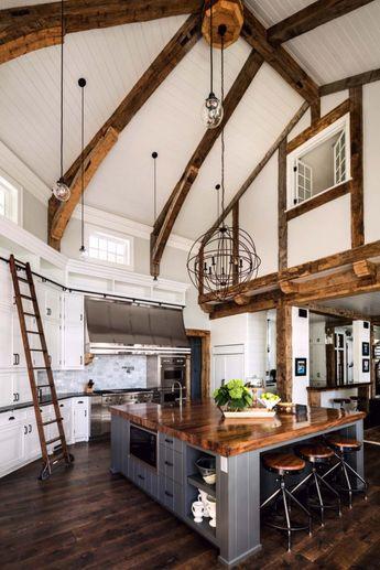A gorgeous farmhouse style home on Big Cedar Lake