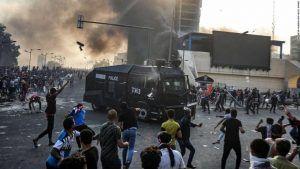 27 mortos em três dias de protestos no Iraque