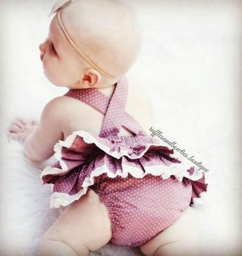 Baby Girls Sweet Valentine Dusty Rose Romper/Jumper  This adorable dusty rose romper is full of frills your bound to love. Sweet polka dot print with lace ruffles and a sweet heart shape top, this romper is the perfect pick for your little Valentine. #Kryssikouture #rufflesandbowties #Dustypinkromper #babyromper #babysummeroutfit #Designerbaby