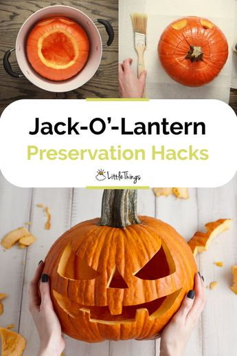 Hacks To Keep Halloween Jack-O'-Lanterns Fresh Longer: Pumpkin carving is one of so many fun ways to prepare for Halloween. Let's try these pumpkin preservation hacks to keep your Jack-O'-Lanterns fresh longest.
