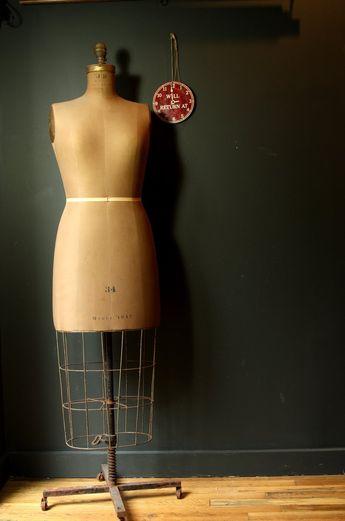 vintage dress form...