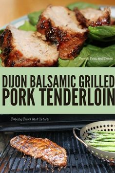 Dijon Balsamic Grilled Pork Tenderloin Recipe is the ultimate grilled meal. With this simple marinade your pork tenderloin will be juicy, flavourful and a great main dish any time of the year. Fire up the grill and throw this on your BBQ. #grilled #pork #porkrecipes #porktenderloin #porktenderloinrecipes #porkrecipeshealthy #marinade #grilling #grillingrecipes #bbqrecipes #bbqporkrecipes #balsamic #dijon