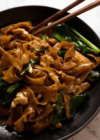 Pad See Ew - Thai Stir Fried Noodles