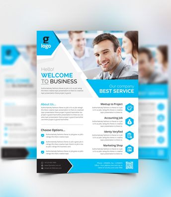 Aether Stylish Corporate Flyer Template 000981 - Template Catalog