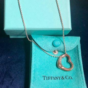 95f926f2e Brand new Authentic Tiffany & co. Elsa Peretti Brand new-silver-open heart