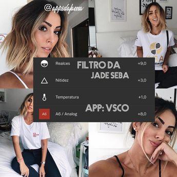 Filtro da @jadeseba ❤️#filter #vsco #vscocam