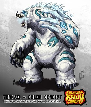 •Kaiju Combat - Tornaq by KaijuSamurai