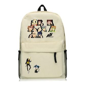 Persona 5 All Character Avatar Backpack Schoolbag For Kids Back To School  Bags 85128fd31fef3