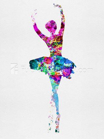 Irina March Ballerina Watercolor 1