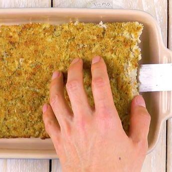 Coliflor, jamón y queso al horno: el resultado, delicioso. #cazuelamontecristo #colifloralhorno #coliflorgratinada #coliflorconjamon #coliflorconqueso #cazueladecoliflor #colifloralgratin
