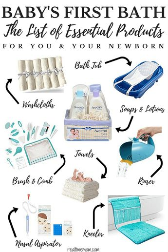 Baby Bath Time Essentials for Your Newborn