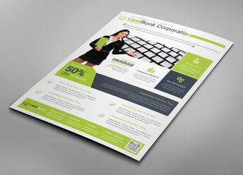 Alberta Professional Business Flyer Design Template - Graphic Templates