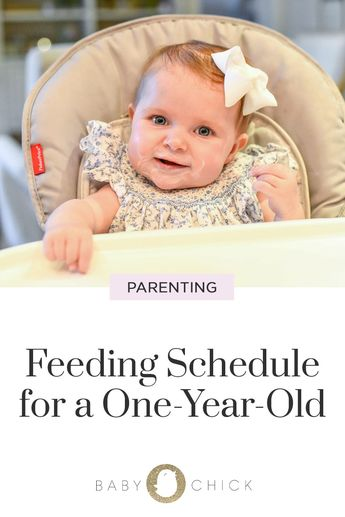 Feeding Schedule for a One-Year-Old