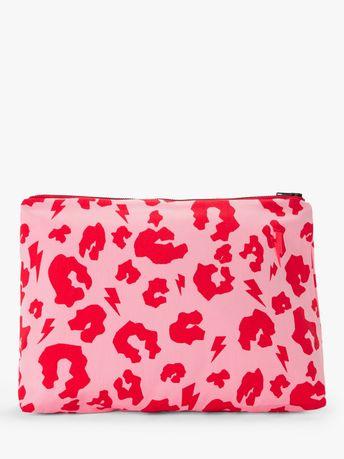 Scamp & Dude Large Leopard Print Swag Bag