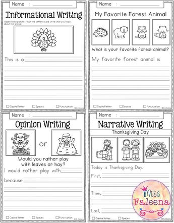 November Writing Prompts contains 60 pages of writing promp