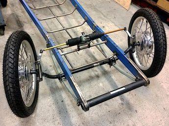 1930 CycleKart Custom Steel Blue Robert Bimrose