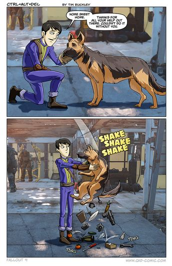 Only good use of dogmeat,  not counting him being dogmeat.
