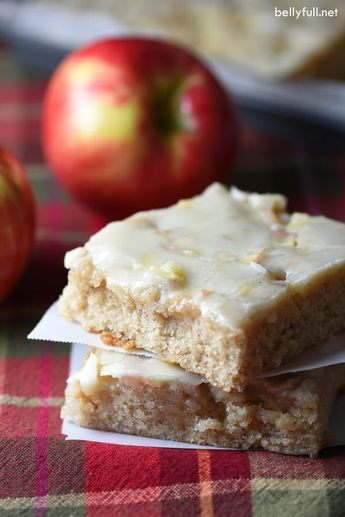 This Caramel Apple Sheet Cake is moist and buttery, with cinnamon and apples throughout. Plus a silky icing infused wth caramel flavor that is to die for!
