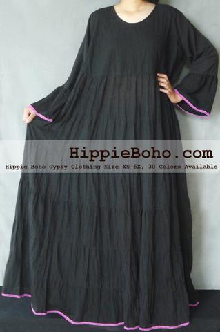 9e8aa04ba98 No.010 - Size XS-7X Hippie Boho Caftan White Pagan Greek K