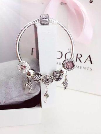 Tendance Bracelets - 50% OFF!!! $199 Pandora Charm Bracelet Pink. Hot Sale!!! SKU: CB01712 - PANDORA ...