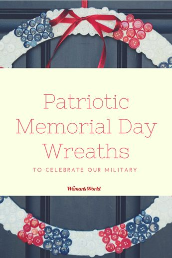 7 Patriotic Memorial Day Wreaths That Are Easy to Make and Even Easier to Admire