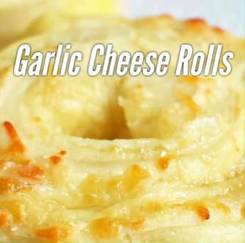 Garlic Butter Parmesan Cheese Rolls. These cheese rolls start with pizza dough, garlic butter, parmesan cheese, and mozzarella cheese. The rolls are baked until golden brown.