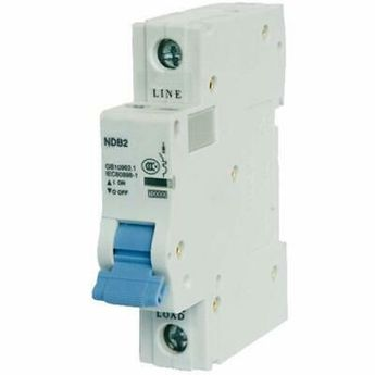 (Sponsored)(eBay) ASI NDB2-63C10-1 Magnetic Circuit Breakers DIN Rail Mount Breaker, UL 1077 Amp,