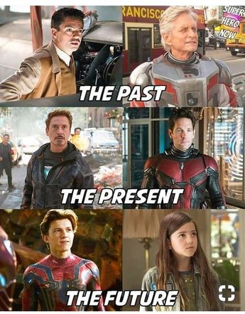 Marvel,the past,the present,the future #Marvel #cosplayclass