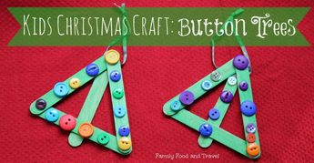 Easy Christmas Ornaments for Toddlers to Make! -