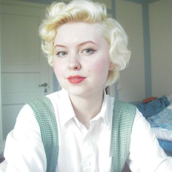The hair and beauty post by Johanna Öst. The best pin curl guide on the internet.