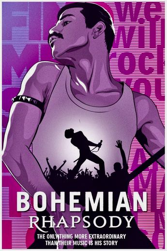 BOHEMIAN RHAPSODY.. Went and saw this with my boyfriend 2 weeks ago and lovvvvved it !! Run to see this movie ! Great !