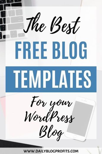 Discover the best free blog themes and templates for your Wordpress blog. These are free themes and