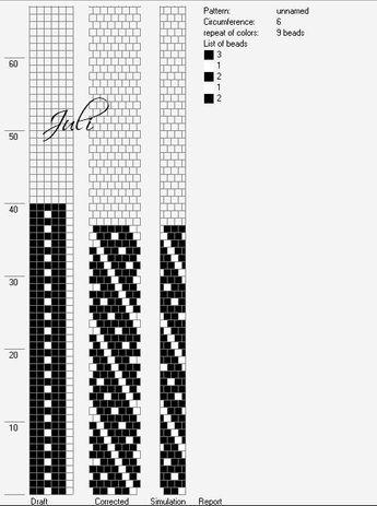 Schlauchketten Häkeln Musterbibliothek Tupfen3