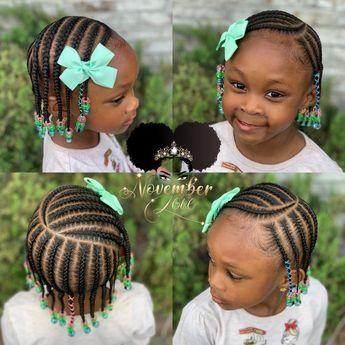 Children's Braids and Beads! DM me for booking information! #ChildrenHairStyles #BraidArt #ChildrensBraids #BraidsAndBeads #kidsbraidsatl…