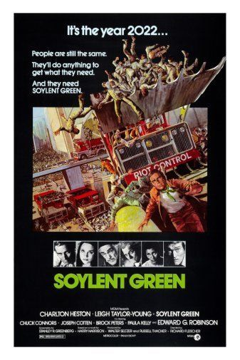 "Details about Soylent Green Movie Poster 24""X36"""