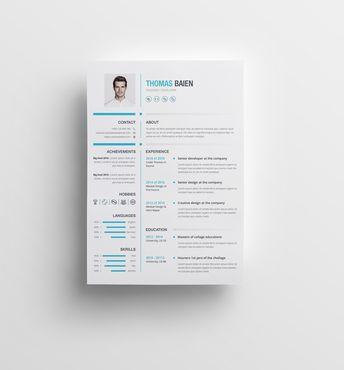 Hades Premium Professional Resume Template - Graphic Templates