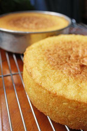 Vanilla Sponge Cake - Gretchen's Bakery