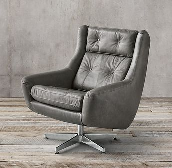 Groovy Motorcity Leather Swivel Chair Beatyapartments Chair Design Images Beatyapartmentscom