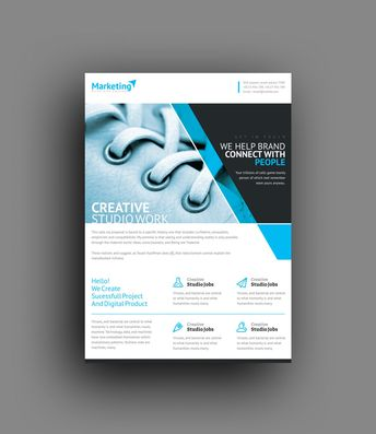 Prometheus Professional Corporate Flyer Template 001014 - Template Catalog