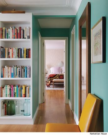 love the colors in rita konig's apartment. dying to know the paint color on the walls.
