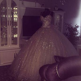Ball Gowns Wedding Dresses Bling Bling Style