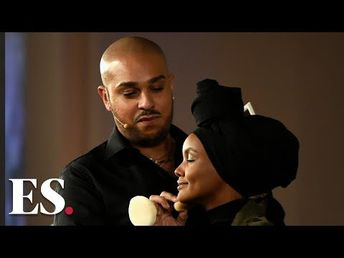 Rihanna and Fenty Beauty make up artist Hector Espinal's top makeup tips - YouTube