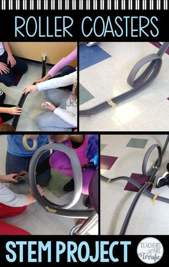 Why Roller Coasters is the Best STEM Challenge Ever